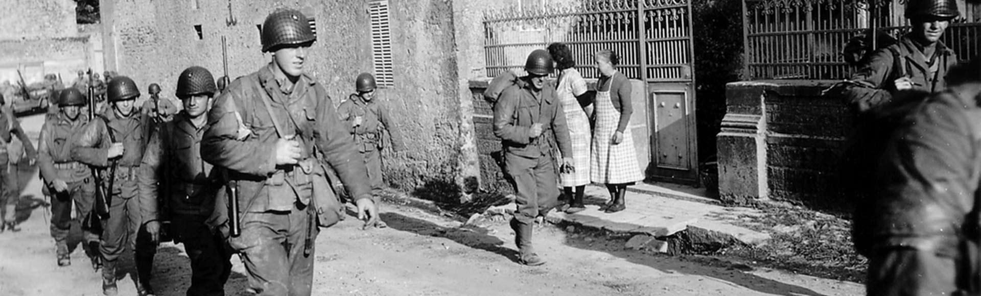 6 JUIN 1944 - Débarquement des forces alliées à Colleville-sur-mer